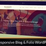 Blogger: WordPress Theme of the Week #1