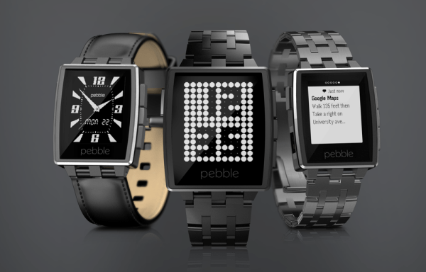 The New Pebble Steel SmartWatch