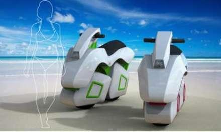Kawasaki jetcycle: su ambicioso concepto anfibio para motos de agua y tierra
