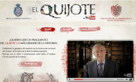 Recreación completa del Quijote en YouTube.