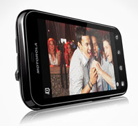 Defy de Motorola, teléfono móvil que graba video bajo el agua
