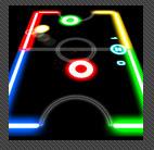 Juego gratuito para smartphones: Glow Hockey