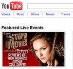 Youtube comienza con los streamings de programas en vivo!