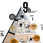 Dieta balanceada de la Media que consumimos diariamente