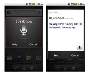 Voice Action:Android aprendió español, francés, italiano y alemán!