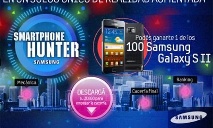 Salí de cacería y ganate uno de los 100 Galaxy S II de Samsung / ARG