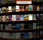 Chrome Experiment – WebGL Bookcase, biblioteca infinita de Google Books