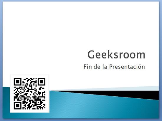 Utiliza códigos QR para compartir una Presentación PowertPoint y mucho +