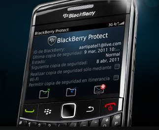 Protege y bloquea tu Blackberry en caso de robo