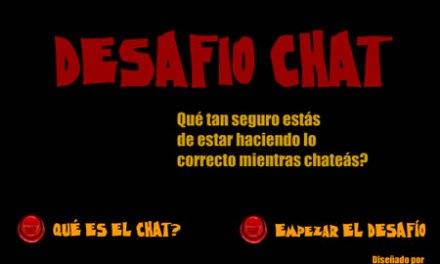 Chicos: Aprender los peligros del chat con un juego