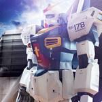 Gundam Mk-II, sensacional escultura de papel de más de 2 metros de altura
