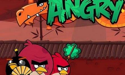 Angry Birds, versión para el Año del Dragón