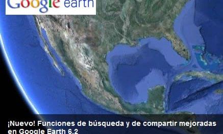 Google Earth lanzó la versión 6.2 con imágenes increíbles y mejoras de todo tipo