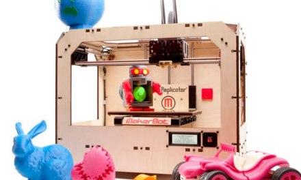 #CES2012  Makerbot , una impresora 3D para hacer tus propios juguetes