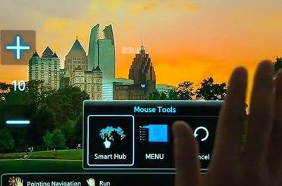 Prototipo de TV Samsung PNE8000 de 60″ con control de gestos