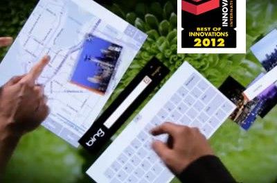 #CES2012 Samsung SUR40 recibe Premio a la Innovación CES 2012