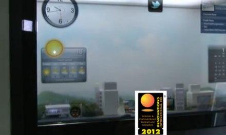 #CES2012: Samsung presenta su asombrosa ventana transparente