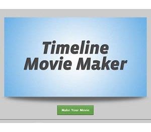 Timeline Movie Maker: Hacer una película con tus fotos y actividades de Facebook