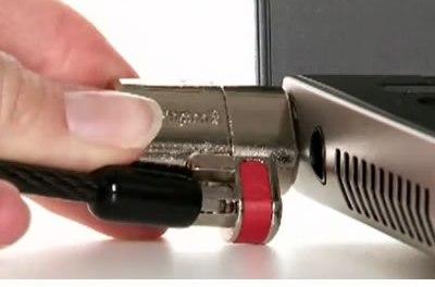 ClickSafe de Kensigton protege tu computadora de ladrones
