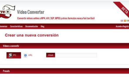 VEO, convertidor de vídeos para distintos dispositivos