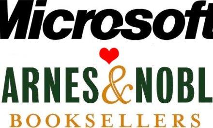 Microsoft invierte 300 millones de dólares en Barnes & Noble y crean una nueva filial