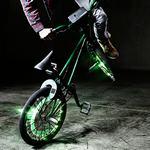 Turntable Rider, kit que transforma una bicicleta en un instrumento musical