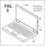 Asus presenta una patente sobre integración de proyectores en laptops
