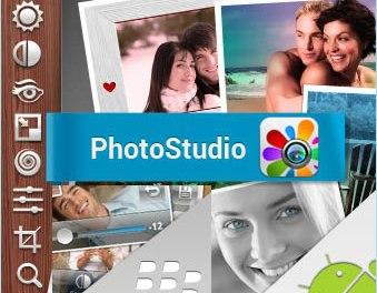 PhotoStudio, editor de fotos para Android y Blackberry