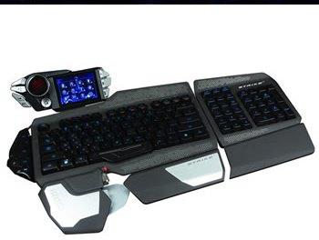 #CES2013 S.T.R.I.K.E.7 : Teclado Profesional para Gamers