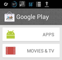 Se filtra nuevo diseño de Google Play