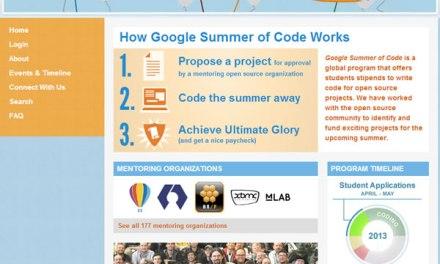 Google Summer Code: Colaborar Proyectos Open Source / Insc. hasta el 3 Mayo