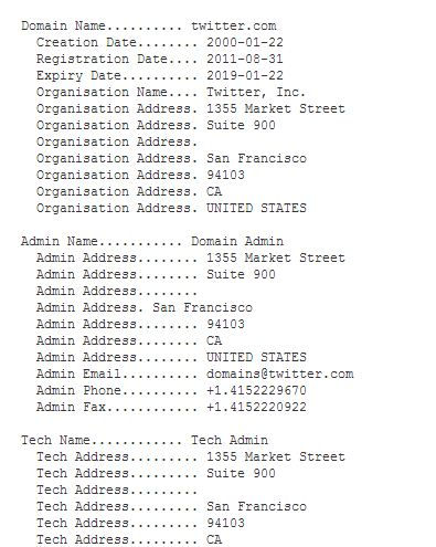 Image Result For Whois Network Solutions