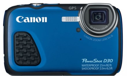 Canon PowerShot D30: Prepárate para la aventura con esta cámara sumergible