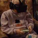 Poco tiempo antes de morir, una abuela disfrutó de su pasatiempo favorito con Oculus Rift