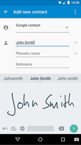 escritura-a-mano-android-smartphone