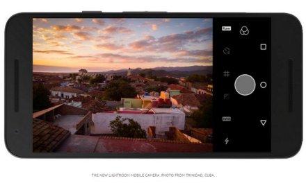 Actualización de Adobe LightRoom para Android, entre otras cosas introduce modo RAW #MWC2016