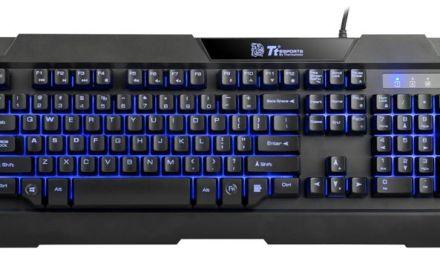 Tt eSports presenta Commander Combo, teclado y ratón para gamers con múltiples luces