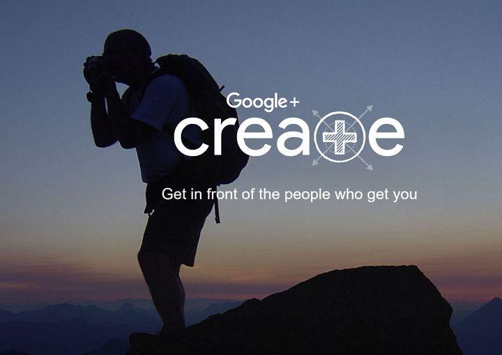 Google+ anuncia Create, un sitio para crear colecciones con contenido de interés y de alta calidad