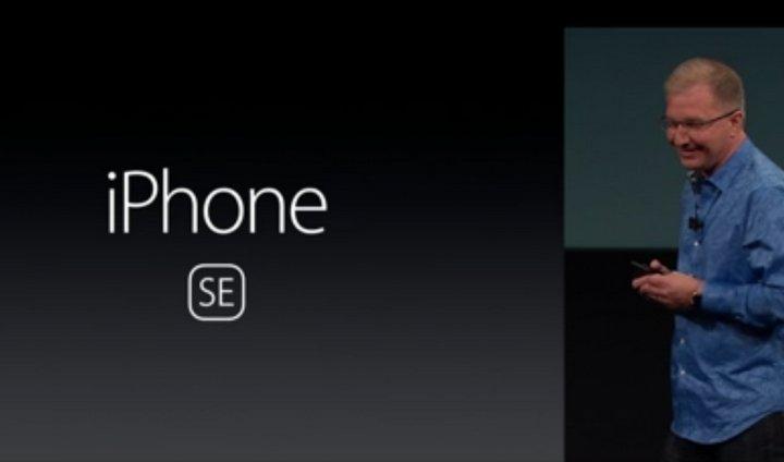 Tal como se esperaba Apple introduce el nuevo iPhone SE con pantalla de 4 pulgadas