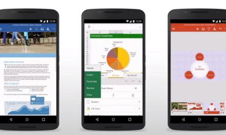 Microsoft actualizó Office para Android con guardado automático e historial de versiones