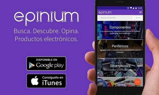 Epinium, opiniones de más de 250 mil consumidores sobre productos electrónicos