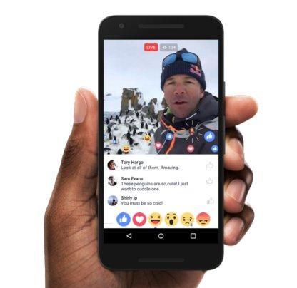 Facebook Live pronto permitirá que dos usuarios transmitan simultáneamente y se integrará con MSQRD!