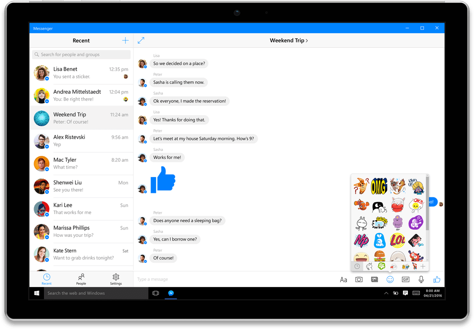 facebook-messenger-with-device-shadow