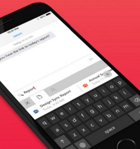 El teclado Hub de Microsoft ahora en iOS