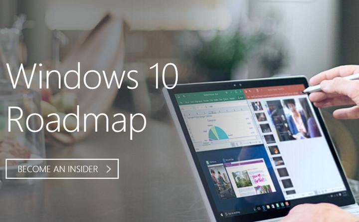 Microsoft lanza el Roadmap de Windows 10 con características en desarrollo
