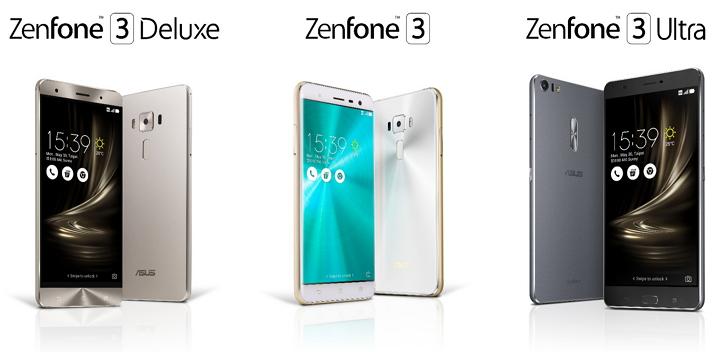 Asus presenta 3 modelos de su nuevo smarphone Zenfone 3 #Computex2016