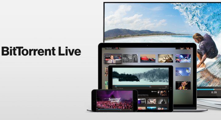 BitTorrent anuncia BitTorrent Live, app multicanal de streaming de vídeo para Apple TV, Android, iOS y Mac OS X