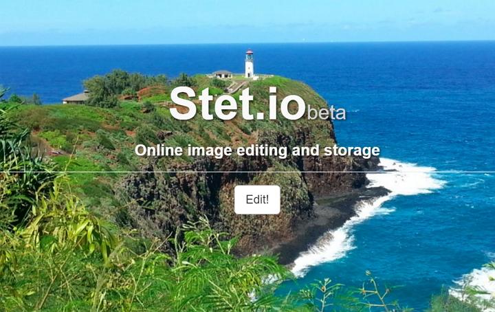 Stet.io es un estupendo editor de imágenes en línea
