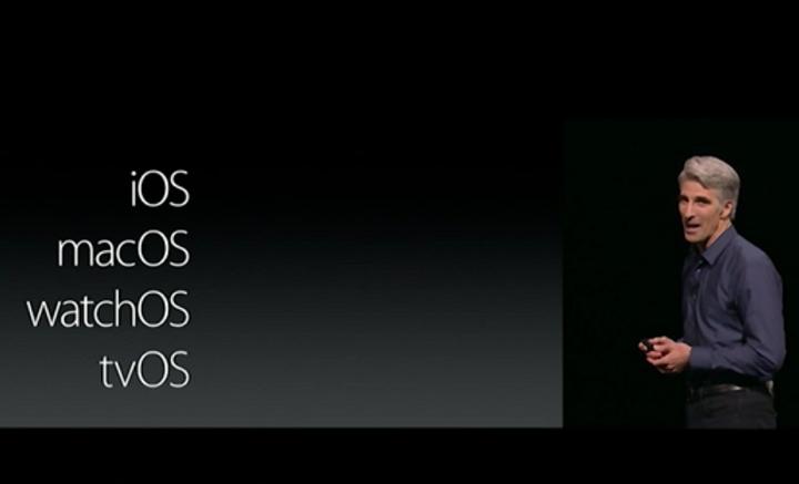No más Mac OS X, ahora el SO de Apple para desktop se llamará MacOS