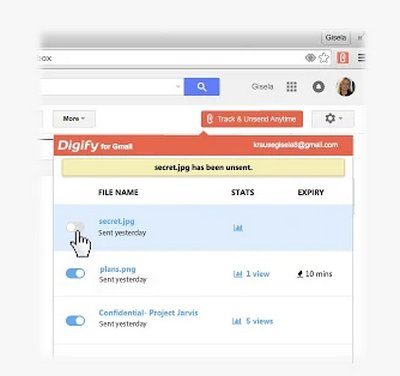 digify-gmail-chrome-extension-unsend